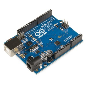 «Arduino Uno - R3» de SparkFun Electronics from Boulder, USA - Arduino Uno - R3. Disponible bajo la licencia Creative Commons Attribution 2.0 vía Wikimedia Commons - http://commons.wikimedia.org/wiki/File:Arduino_Uno_-_R3.jpg#mediaviewer/File:Arduino_Uno_-_R3.jpg