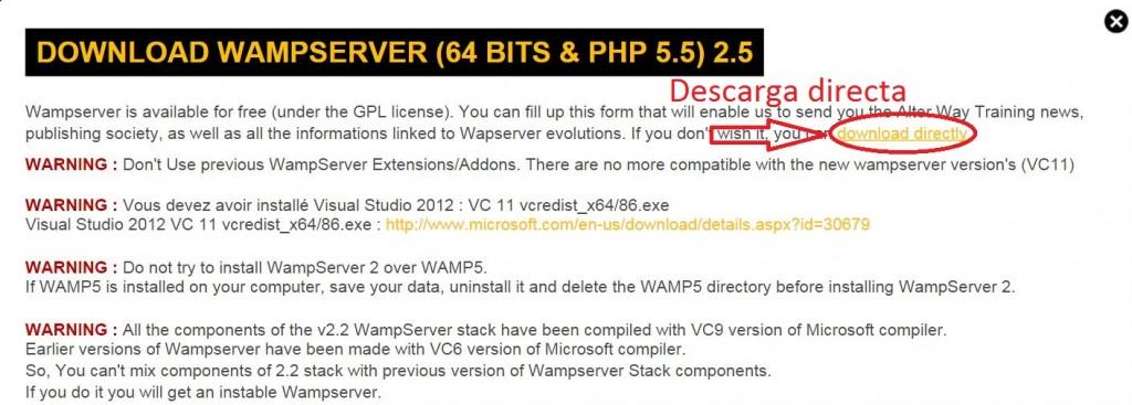 Download WAMP