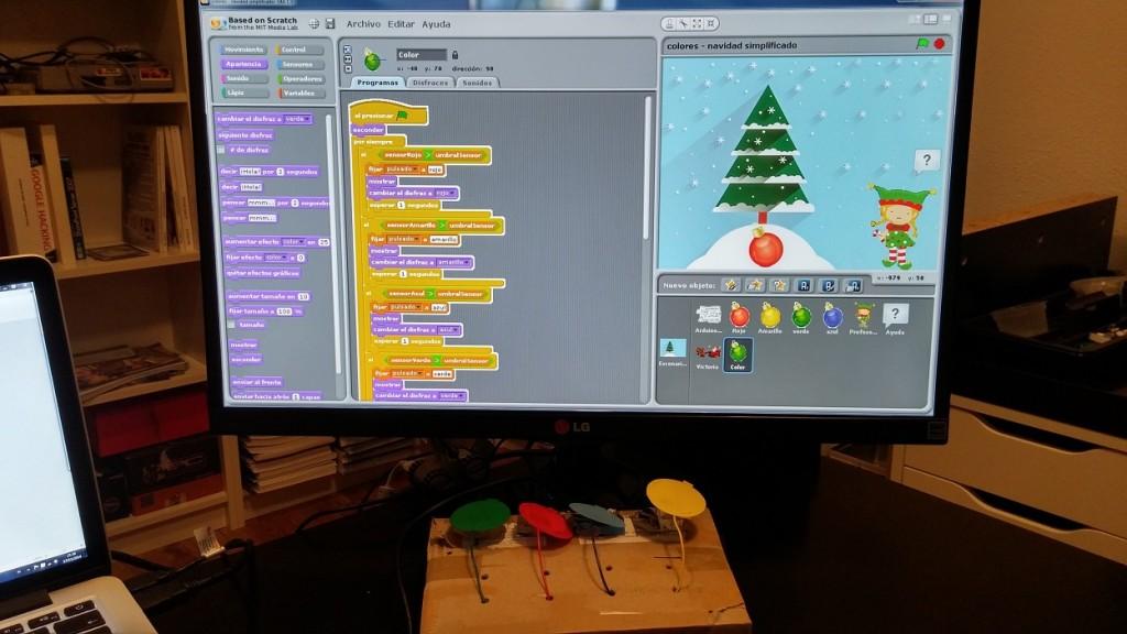 Aprende los colores en Navidad