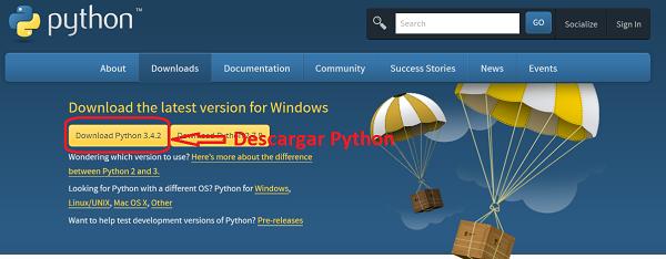 Descargar Python