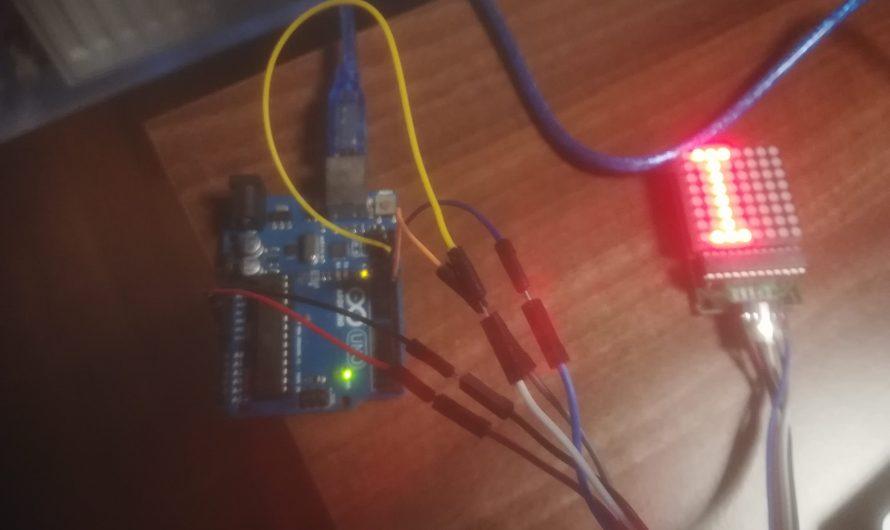 Cómo conectar una matriz de leds 8×8 a Arduino